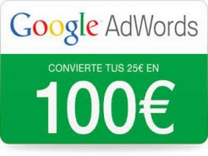 Cupón 75 Google Adwords