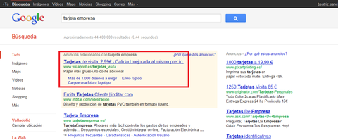 adwords_vistaprint