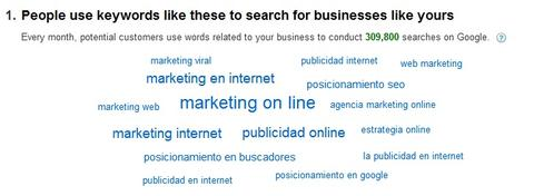 Paso 2: adwords