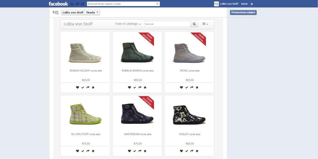 Crear tienda en Facebook gratis