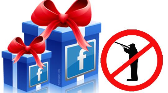 prohibir cazasorteos en facebook