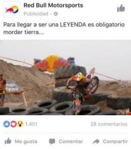 post promocionado facebook